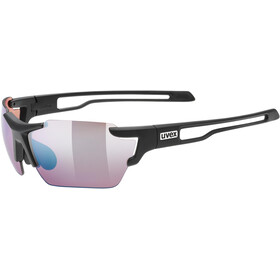 UVEX Sportstyle 803 Colorvision Glasses, black mat/outdoor